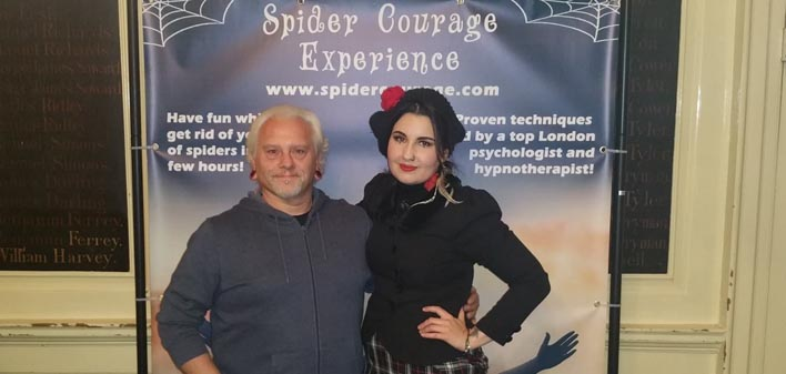 The British Tarantula Society Endorses The Spider Courage Experience!